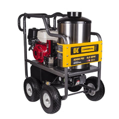 Bar 122HOT4013C-HE 4000psi 13.0HP Honda GX390 Petrol Hot Water High Pressure Washer Cleaner