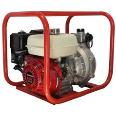 "Bar 124HP15652-H 1-1/2"" 6.5HP Twin Impeller Honda GX200 Petrol High Pressure Fire Fighter Water Pump"