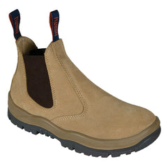 Mongrel 240040 Wheat Elastic Sided Steel Toe Safety Boots