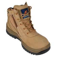 Mongrel 261050 Wheat SP ZipSider Steel Toe Safety Boots