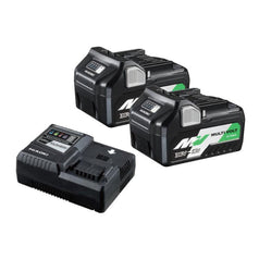 HiKOKI-36VSTARTERPACK2Z-18V-36V-2-5Ah-5-0Ah-Cordless-MultiVolt-Battery-Charger-Combo-Kit