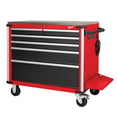 Milwaukee-48228538-1016mm-40-6-Drawer-Steel-Top-Work-Bench-Roller-Cabinet