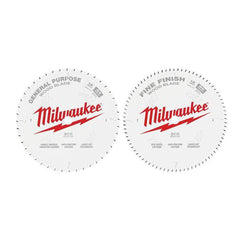 Milwaukee-48408232-2-Pack-305mm-12-44T-80T-General-Purpose-Wood-Circular-Saw-Blade-Set