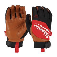 Milwaukee SMARTSWIPE™ Hybrid Leather Gloves