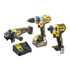 DeWalt DCK341T1-XE 3 Piece 18V 6.0Ah Cordless Brushless Combo Kit