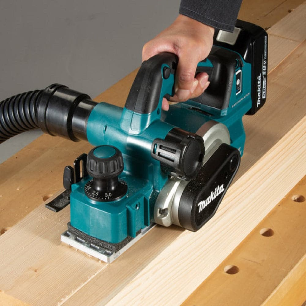 Makita DKP181Z 18V 82mm AWS Brushless Cordless Planer