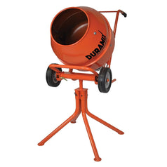 Duramix DMHM22 22L 370W 3.5cf Electric Portable Cement Mixer with Stand