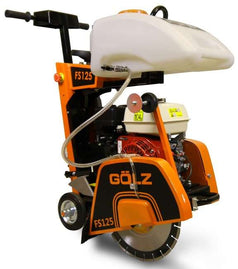 "Golz FS125 350mm (14"") 7.0HP Robin EX21 Petrol Floor Road Saw"