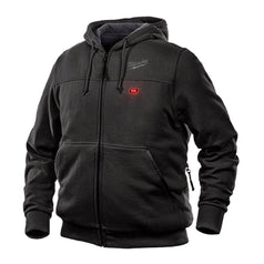 Milwaukee S Milwaukee M12HHBLACK9-0 12V Cordless Black Heated Hoodie Jacket