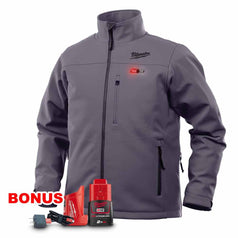 Milwaukee M12HJGREY9-0 12V 2.0Ah Cordless Grey Heated Jacket Kit