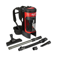 Milwaukee-M18FBPV-0-18V-FUEL-Cordless-3-in-1-Backpack-Vacuum-Dust-Extractor-Skin-Only
