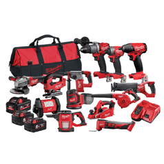 Milwaukee M18FPP14A2-853B 14 Piece 18V 5.0Ah & 8.0Ah FUEL Cordless Combo Kit