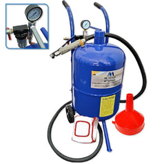 Metaltech MTSB10G 10 Gallon (38L) Deluxe Portable Sandblaster Kit