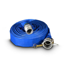 MasterFinish LFH20 20m Lay Flat Nylon Delivery Hose with Fittings