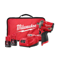 Milwaukee Milwaukee M12FIWF12-202B 12V 2.0Ah FUEL Cordless Impact Wrench Kit