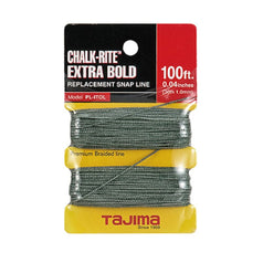Tajima PLITOL 1mm x 30m (100ft) Chalk-Rite Extra Bold Replacement Chalk Line