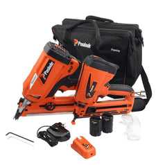 Paslode S20503 2 Piece 7.4V Framing Nailer & Angled Bradder Combo Kit