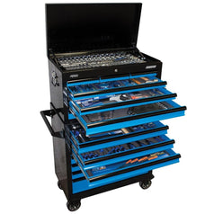 SP-Tools-SP50176-407-Piece-Metric-SAE-14-Drawer-Black-Blue-SUMO-Roller-Cabinet-Tool-Chest-Kit
