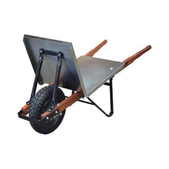 Easymix W1100-HBHNGS Boss Brickies Flat Tray Tim Handle Wheelbarrow