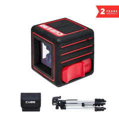 ADA ADA ADA00384 Red Beam Self-Levelling Cross Line Laser Level Kit
