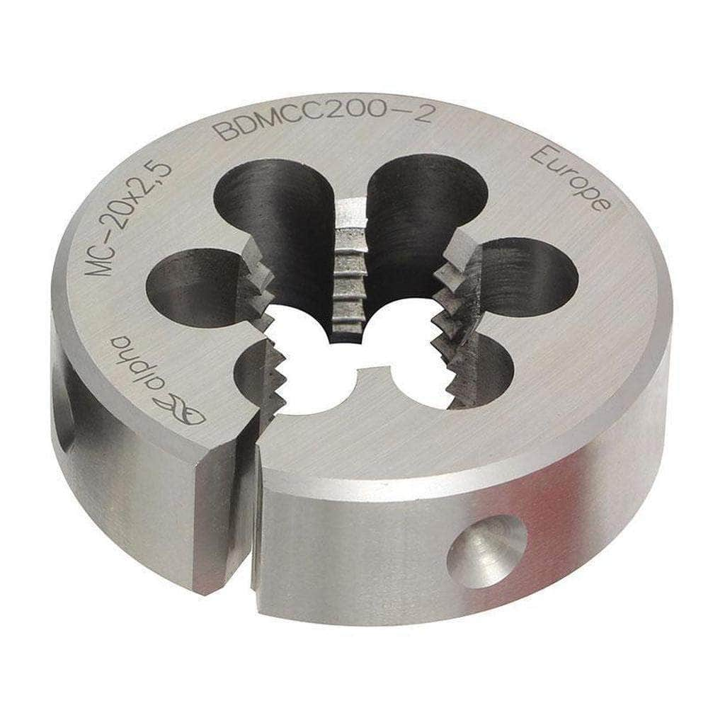 Alpha Alpha CBDMFC100125-1.5 10.0mm x 1.25-1.5OD MF Carbon Steel Button Die