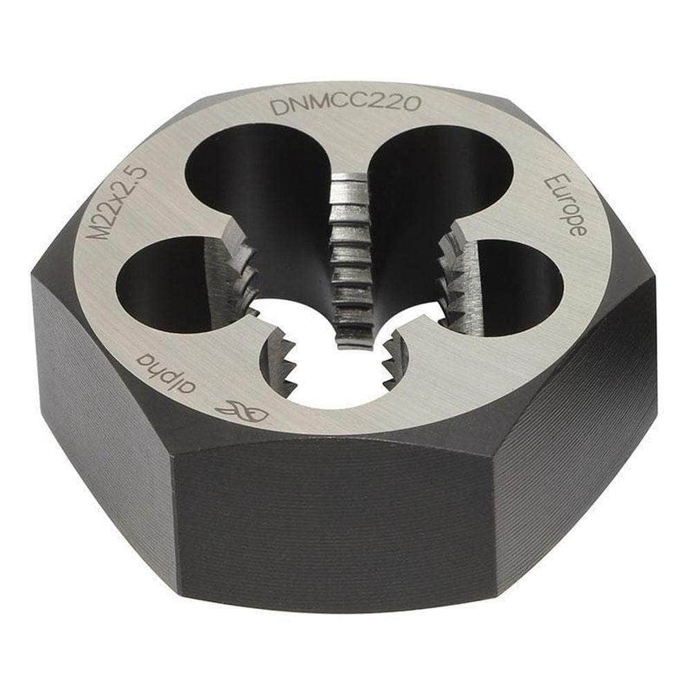 Alpha Alpha DNMCC090 9.0mm x 1.25mm MC Carbon Steel Die Nut