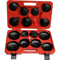 AuzGrip AuzGrip A16250 16 Piece 115Nm Oil Filter Cap Wrench Set