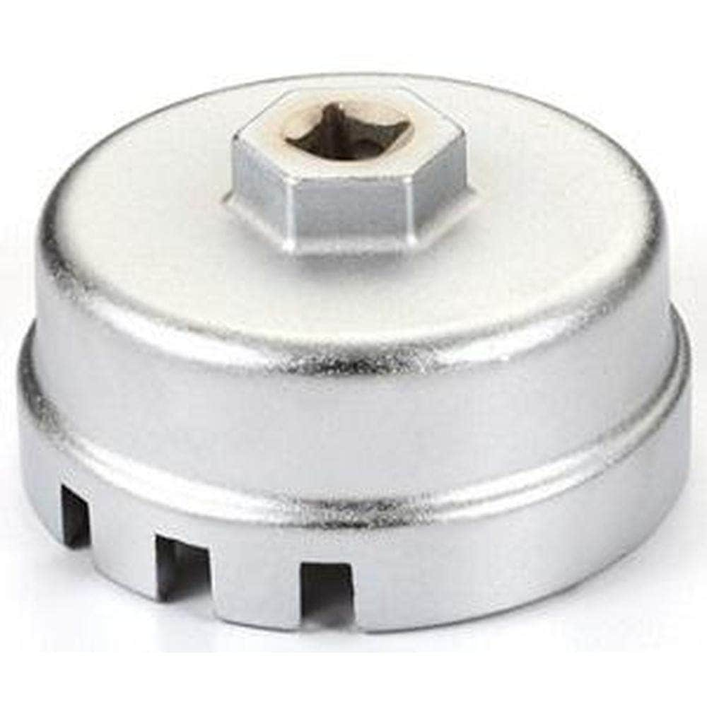 "AuzGrip AuzGrip A16256 64.5mm x 14 Flutes 3/8"" Square Drive Oil Filter Cap Wrench"