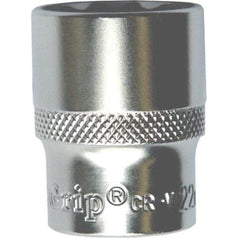 "AuzGrip AuzGrip A75416 16mm 12 Point 3/8"" Square Drive Chrome Socket"