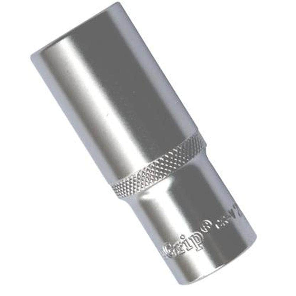 "AuzGrip AuzGrip A75460 14mm 12 Point 3/8"" Square Drive Deep Socket"