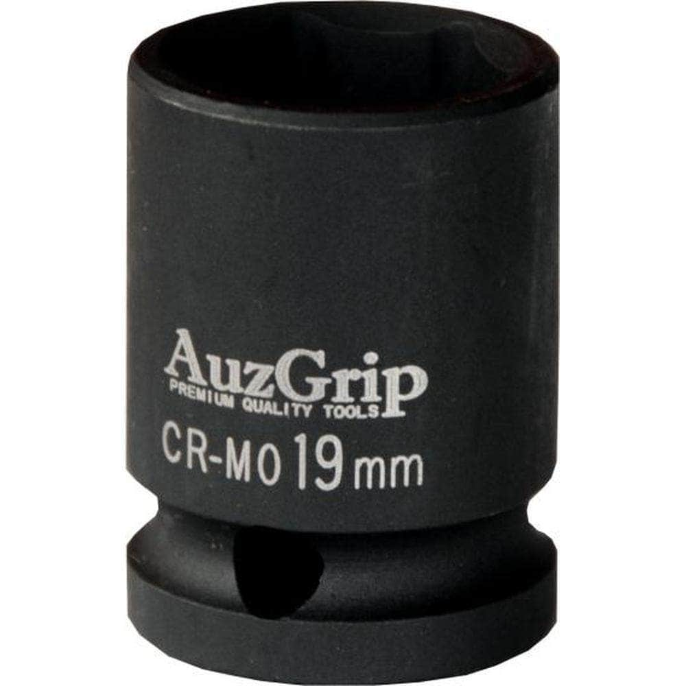 "AuzGrip AuzGrip A84422 19mm 12 Point 1/2"" Square Drive Impact Socket"