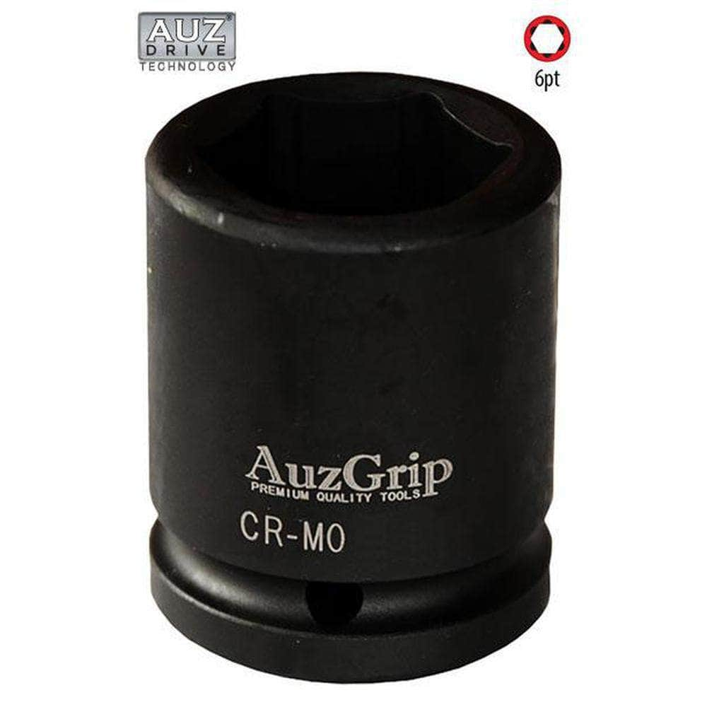 "AuzGrip AuzGrip A84652 1/2"" 6 Point 1/2"" Square Drive Impact Socket"