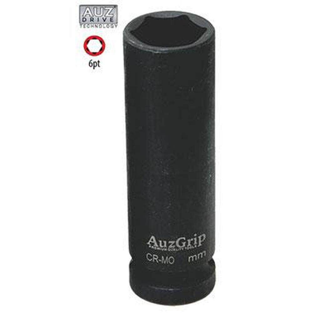 "AuzGrip AuzGrip A84705 13mm 6 Point 1/2"" Square Drive Deep Impact Socket"