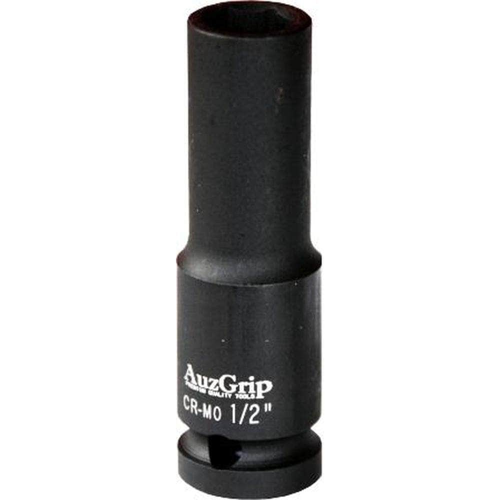 "AuzGrip AuzGrip A84708 15mm 6 Point 1/2"" Square Drive Deep Impact Socket"