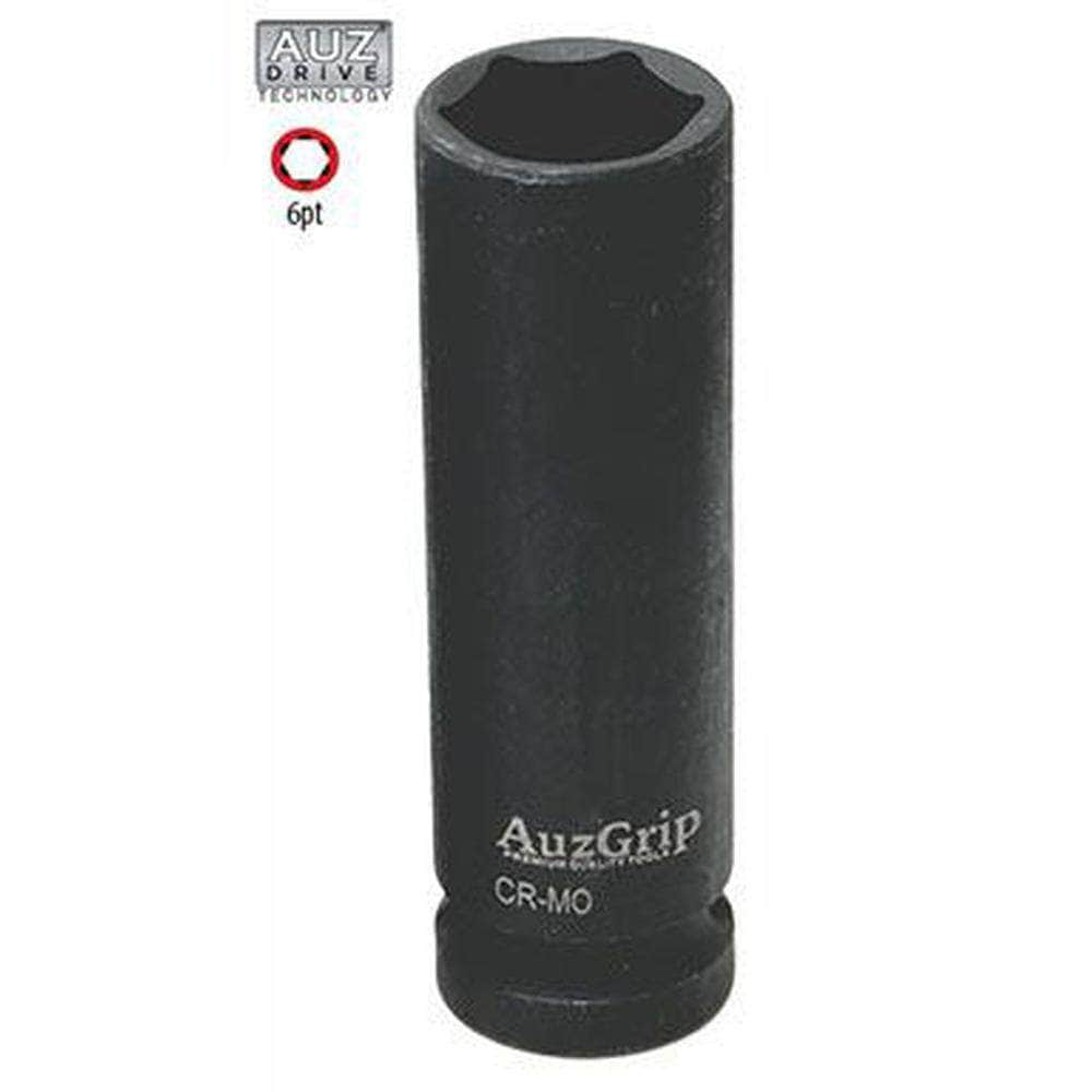 "AuzGrip AuzGrip A84743 1-1/4"" 6 Point 1/2"" Square Drive Deep Impact Socket"