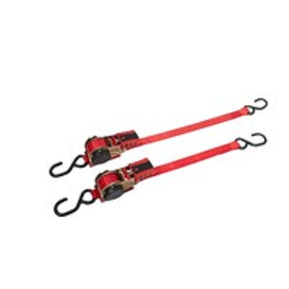 Bikeservice Bikeservice BS80031 2.4m (8ft) 227kg Retractable Ratchet Tie Down