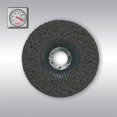 "Makita B-28983 125mm (5"") x 22.23mm Black Fibreglass Silicone Carbide Strip Grinding Disc"