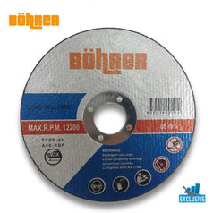 Bohrer Bohrer BOH-125CI 125mm (5'') Metal Inox Cutting Disc