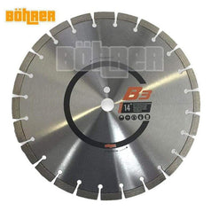 "Bohrer Bohrer BOH-350254 350mm (14"") Segmented Demolition Diamond Saw Blade"