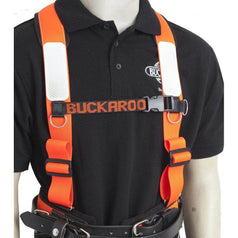 Buckaroo Buckaroo TMH Leather Padded Shoulder Harness