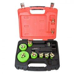 Crescent Crescent CRLE7HD 19 Piece Electricians Quick Change Cobalt Bi-Metal HSS Hole Saw Set