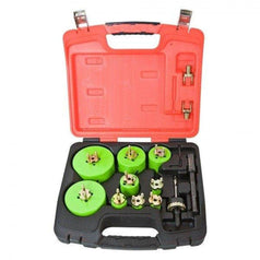 Crescent Crescent CRLE9HD 23 Piece Electricians Quick Change Cobalt Bi-Metal HSS Hole Saw Set