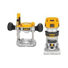 "Dewalt Dewalt D26204K-XE 1/4"" 900W Corded Plunge Router with Fixed Base"