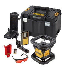 Dewalt Dewalt DCE074NR-XJ 18V Cordless Red Beam Rotary Laser Level (Skin Only)