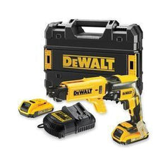 Dewalt Dewalt DCF620P2K-XE 18V 5.0Ah XR Cordless Brushless Collated Drywall Screwdriver Kit