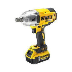 "Dewalt Dewalt DCF899P2-XE 18V 5.0Ah 1/2"" Square XR Cordless Brushless High Torque Impact Wrench Kit"