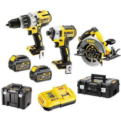 Dewalt Dewalt DCZ357T2T-XE 3 Piece 18V-54V 6.0Ah XR Cordless Brushless Combo Kit
