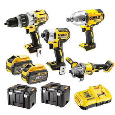 Dewalt Dewalt DCZ441X2T-XE 4 Piece 18V-54V 9.0Ah XR Cordless Brushless Combo Kit
