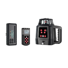 General Titanium 88140 Red Beam Rechargeable Horizontal & Vertical Rotary Laser Level