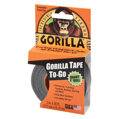 Gorilla Gorilla 61001 9x25.4mm Handy Roll Black Tape